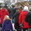 Bergslagen en stor julmarknad
