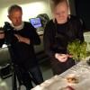 Peo fotograferar till ny kokbok