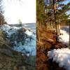Islossning på sjöarna ännu ett vårtecken