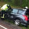 Trafikolycka vid Silverhöjden