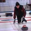 Nyfikna lockades av Curlingens dag