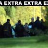 Stor polisinsats på Rällsögården
