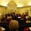 Julkonsert med stående ovationer