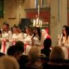 Lucia lyste upp fullsatt kyrka