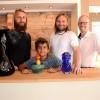 Spännande glasutställning hos Sandbergs