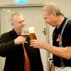 Landsbygdsministern startade dagen med öl