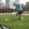 Golfens dag lockade intresserade