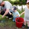 Kräftfisket började strålande i Lindesberg