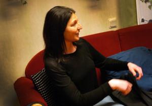 Tullbacken enhetschef Linda Vikström pratade väl om aktiviteten med clowner.