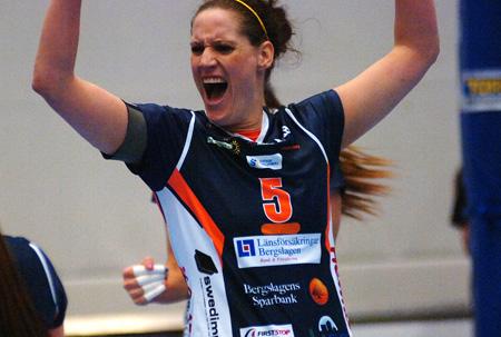 Tina Johansson svarade för 18 poäng när Lindesberg tog sig till semifinal.