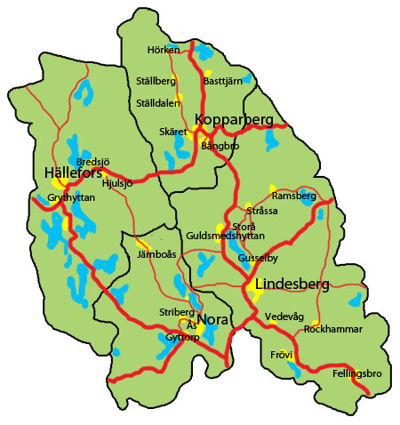 Lindesberg Och Hallefors Vaxer 24i