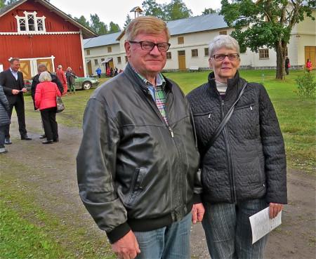 Ture och Gunilla Österberg från Nora.