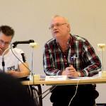 """Kommunsekreteraren Anders Andersson är """"showman"""" under kommunfullmäktiges sammanträden."""