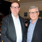 Jan Fineman och Håkan Wolgast från Bisnode redogjorde för hur företagen i Lindesberg mår.