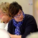 Kommunalrådet Ewa-Leena Johansson är stolt över samarbetsklimatet.