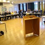 Det är ingen kö till talarstolen i fullmäktigesalen i Ljusnarsberg.