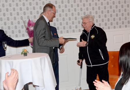 Sören Nordén har tränat 5000 barn och unga och utsågs till årets eldsjäl.