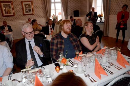 Presentationen av Martin Almgren gladde alla.