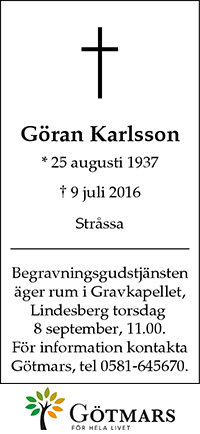 GöranKarlsson_G_20160901