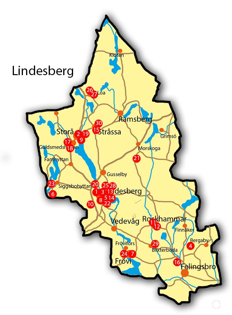 karta lindesbergs kommun Här bor dina politiker i Lindesberg | 24i karta lindesbergs kommun